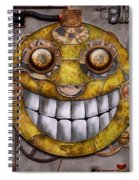 Steampunk - The Joy Of Technology Spiral Notebook