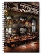 Steampunk - The Workshop Spiral Notebook