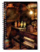 Steampunk - Where Experiments Are Done Spiral Notebook