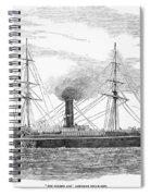Steamship, 1853 Spiral Notebook