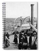 Steamship 1914 Spiral Notebook