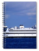 Steamship Authority Ferry Spiral Notebook
