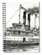 Steamship Tacoma Spiral Notebook