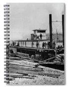 Steamships, C1864 Spiral Notebook