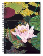 Steamy Pond Spiral Notebook