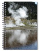 Steamy Reflections Spiral Notebook