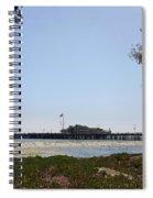 Stearns Wharf Santa Barbara Spiral Notebook