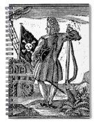 Stede Bonnet (c1688-1718) Spiral Notebook