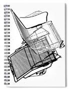Steel Chair Spiral Notebook