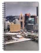 Steel City Storm Clouds Spiral Notebook