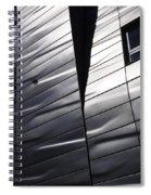 Steel Currents Spiral Notebook