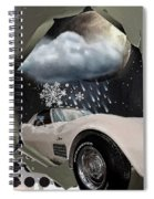 Steel Frame Stingray Spiral Notebook