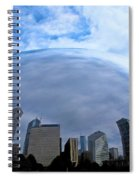 Steel Globe Spiral Notebook