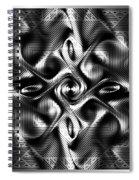 Steel Magnolia Spiral Notebook