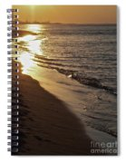 Steel Mill Sunset Spiral Notebook