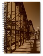 Steel Shadows Spiral Notebook