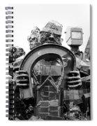 Steel Vs Steel Spiral Notebook