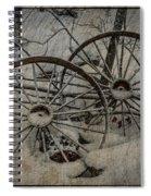 Steel Wheels Spiral Notebook