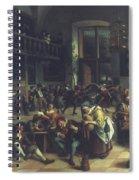 Steen: Merrymaking, 1674 Spiral Notebook
