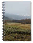 Steens Mountain Landscape - No 2a Spiral Notebook
