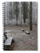 Steep And Frost - 3 Spiral Notebook