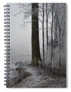 Steep And Frost Spiral Notebook