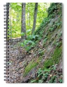 Steep Incline Around The Mountain Spiral Notebook