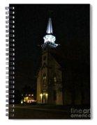 Steeple After Dark  Spiral Notebook