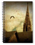 Steeple Crows Spiral Notebook