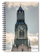 Steeple In Haverhill Ma Spiral Notebook