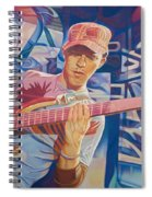 Stefan Lessard And 2006 Lights Spiral Notebook