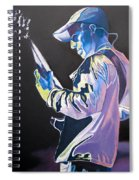 Stefan Lessard Colorful Full Band Series Spiral Notebook