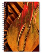 Steinway Piano Golden Inners Spiral Notebook