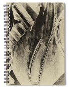 Steinway Piano Inners Spiral Notebook