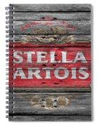 Stella Artois Spiral Notebook