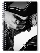 Stella Burns - Guitar Close-up Spiral Notebook