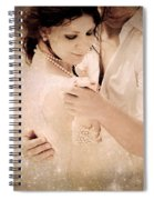 Stellar Couple Dance Spiral Notebook