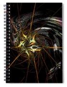 Stellar Spikes Spiral Notebook