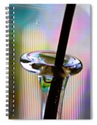 Stem And Vase Spiral Notebook
