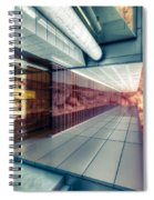 Step Carefully On The Balcony Spiral Notebook