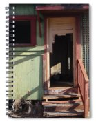 Step Into My Parlor Said The Spider To The Fly Spiral Notebook