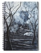 Step Into The Woods Spiral Notebook
