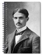 Stephen Crane (1871-1900) Spiral Notebook