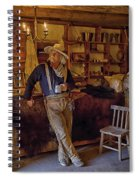 Stepping Back In Time At Bent's Old Fort Spiral Notebook