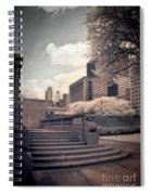 Steps In A City Park Spiral Notebook