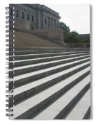 Steps Of Justice Spiral Notebook