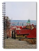 Steps Of Prague Spiral Notebook
