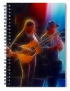 Steve Miller Band Fractal-1 Spiral Notebook