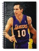 Steve Nash Spiral Notebook
