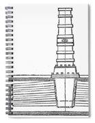 Stevens: Sectional Boiler Spiral Notebook